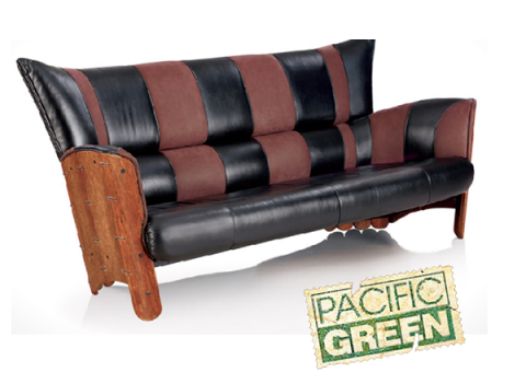 Pacific Green sofa