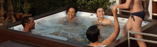 Jacuzzi hot tubs in Derbyshire
