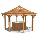 Hot Tub Lodge & Gazebo