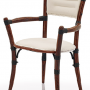 Mauritius carver chair in white