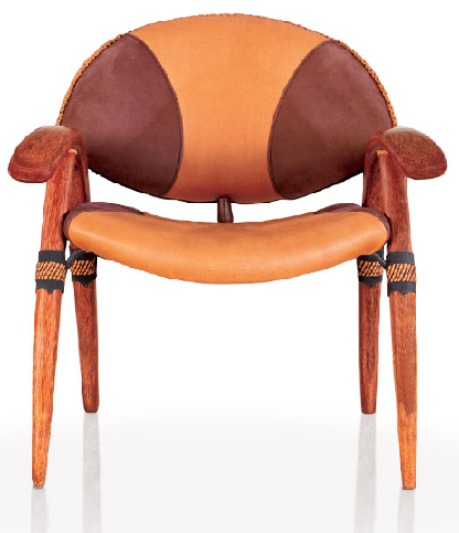 Onca dining chair tan