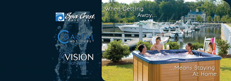 Spa Crest hot tubs showroom