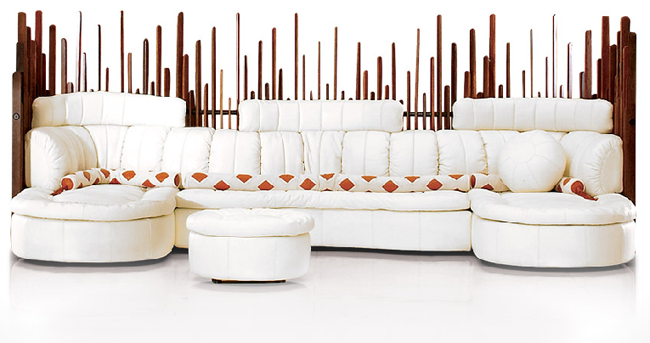 Eco Friendly Furniture Sofas And Chairs Hot Tub Showroom
